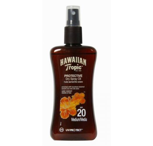 HAWAIIAN TROPIC Olio OIL - Spray 200ml SPF20